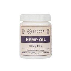 Endoca: Capsules Hemp Oil Total: 300mg CBD
