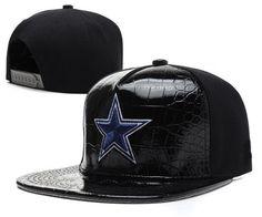 f37d1836525 NFL Dallas Cowboys Hats New Era Snapback leather brim Black 214
