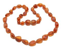 Genuine Baltic amber baby teething necklace amber by BLTAmber