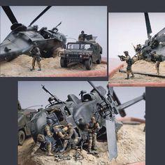 Black Hawk Down PART2 scale: 1:35 By:Alexander Bodnar From: diorama.ru #scalemodel #plastimodelismo #miniatura #miniature #miniatur #hobby #diorama #humvee #scalemodelkit #plastickits #usinadoskits #udk #maqueta #maquette #modelismo #modelism