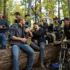 Alex and Chloe get ready for the next shot. #5thWaveMovie | The 5th Wave in theaters January 22, 2016