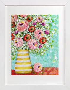 Daisy Surprise by Sen Chloe at minted.com