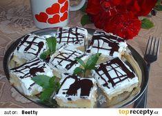 Pudinkové řezy-vynikající recept - TopRecepty.cz Pavlova, Pudding, Cake, Food, Pie Cake, Pie, Cakes, Essen, Puddings