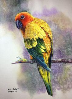 Ti Watercolor/Demo