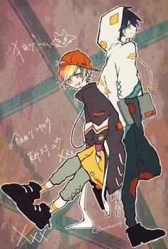 Fanarts Anime, Anime Chibi, Anime Art, Character Concept, Character Art, Character Design, Danganronpa Characters, Anime Characters, The Wolf Game