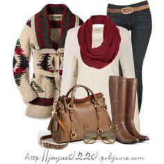 """Cozy Winter Cardi"" by jaycee0220 on Polyvore"