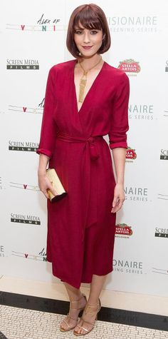 Look of the Day - April 09, 2015 - Mary Elizabeth Winstead in Beckley from #InStyle