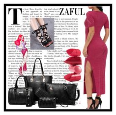 """Zaful 21."" by amra-sarajlic ❤ liked on Polyvore featuring Rossetto and zaful"