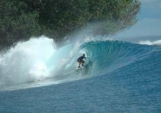Jeremy scored this Sumatran Gem surfing aboard the Bohemian Yacht Charter
