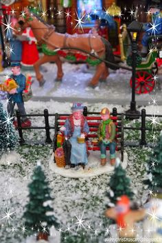 Lemax Christmas village 2014. Visit our christmas blog on…