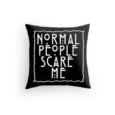 American Horror Story PIllow Tate Langdon 16x16 by GeekChicPrints, $25.00