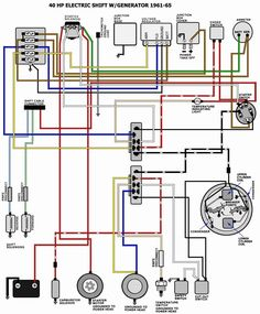 10 Best 70 Hp Johson Wiring Images Outboard Omc Whalers