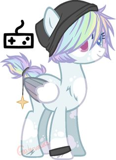 Flutterdash foal -closed- by deadgraves on DeviantArt
