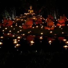 😇😇 Happy Makha Bucha Day for all of you and especially to all my buddhist friends 😇😇 ☞ Māgha Pūjā (Burmese: တပို့တွဲလပြည့်နေ့ ; Khmer: មាឃបូជា, ; Lao: ມະຄະບູຊາ; Thai: มาฆบูชา; Sinhalese: නවම් පොහොය) is an important Buddhist festival celebrated on the full moon day of Māgha in Cambodia, Laos, Thailand and Sri Lanka and on the full moon day of Tabodwe in Myanmar. The spiritual aims of the day are not to commit any kind of sins; do only good; purify one's mind. ▫▫▫ #asian #thailand…