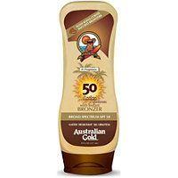 Australian Gold - Lotion Sunscreen w/ Instant Bronzer SPF 50 in 50 #ultabeauty
