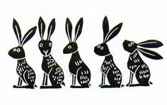 Melanie Wickham - Lino Prints: 3 new prints in Folksy shop and an offer...