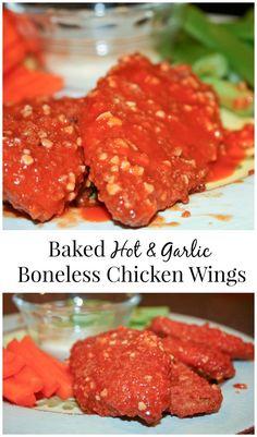 Hot & Garlic Baked B
