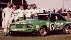 Back in the mid-1980s after the end of the local Group C touring car rules, Dick Johnson opted to purchase a pair of Zakspeed-built Mustangs from Germany for the introduction of the new Group A rulebook. This car was brought into Australia in late 1984 and actually taken to Bathurst by Johnson as a back-up for the team's primary entry, #17 Palmer Tube Mills Falcon XE.