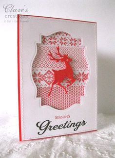 Awesome card by Claire Waltzing Mouse Stamps