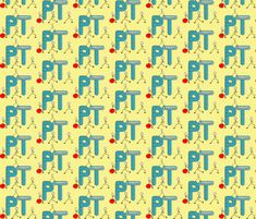 PT Assistant 3 Yellow custom fabric by for sale on Spoonflower Physical Therapist, Custom Fabric, Spoonflower, Craft Projects, Quilts, Sewing, Yellow, Crafts, Dressmaking