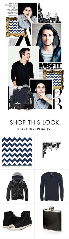 """""""CHARLIE BECKETT [treats]"""" by casie ❤ liked on Polyvore featuring Topman, Converse, Aspinal of London, men's fashion and menswear"""