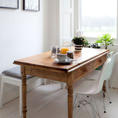 Dining space | Victorian tenement flat | PHOTO GALLERY | Ideal Home | Housetohome