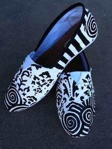 Custom painted Toms.
