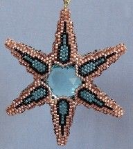 Large Dimensional 6-Sided Star Ornament