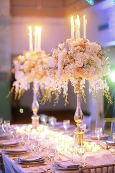 classic wedding centerpiece; photo: Binary Flips Photography