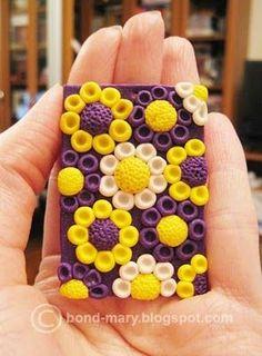 полимерная глина мастер класс - crochet hook handle...
