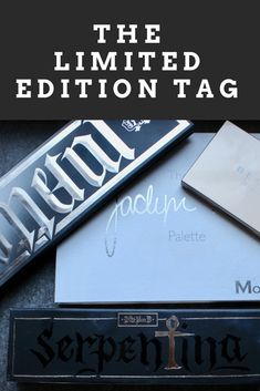 Limited Edition Tag