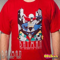 Batman The Animated Series Dynamic Duo T-Shirt