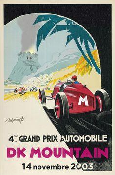 I took an old Monaco racing poster and made it Mario Kart themed http://ift.tt/2ji9fuN