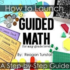 Have you been thinking about starting guided math in your classroom? Use this step by step guide to help you feel confident with a plan in place for implementation! This FREE guide includes: Overview Management Grouping Organization Step by Step Daily Lesson Plans Resources Explanations with Pictures and More!!