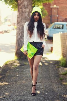 Street Style -popping neon.