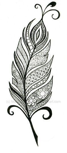 43 Ideas Tattoo Mandala Design Shape For 2020 Feather Drawing, Feather Art, Feather Design, Feather Tattoos, Mandala Feather, Peacock Feather Tattoo, Bird Tattoos, Arrow Tattoos, Doodle Art Drawing