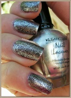 Konad m94 Nail Stamping Plate (Swatches and Review) | The Polished Cricket