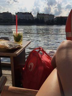 #prague #river #boat #fjallraven