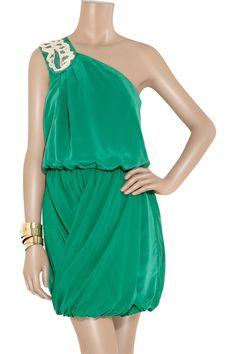 Green cute #dress