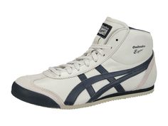 <p>The MEXICO MID RUNNER is a special shoe in Onitsuka Tiger's history as it was not originally found in any catalogues from the time of Tokyo '64. </p> <p>This mid-cut version of the MEXICO 66 was only discovered in the archives of ASICS Research and Development, in Kobe. The MEXICO MID RUNNER was intended to support the ankle and was used as a training shoe for the long jump, high jump, triple jump, and pole vaulting events. Now the look is revived as a styl...