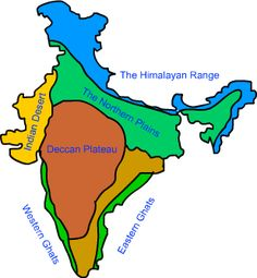 Here are some world map pics which was covered by railwaystays. We have hundreds of deccan plateau map for you. Deccan plateau map consists of 10 awesome pics a…. Geography Map, Geography Lessons, Teaching Geography, Physical Geography, World Geography, Teaching History, History Education, India World Map, India Map