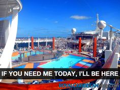 Where I ought to be today #cruise #travel #royalcaribbean