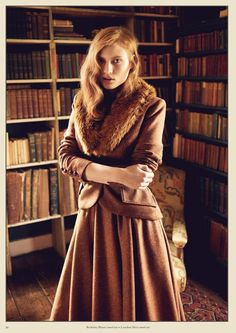 """The new Lena Hoschek Catalogue for """"THE BRITS"""" Collection Autumn / Winter…"""