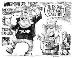 Political Cartoons of the Week: Trumpenstein