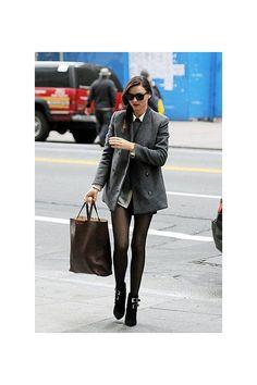 Pinterest : 25 façons de porter la mini-jupe cet hiver | Glamour
