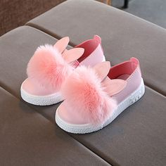 Victory! Check out my new Toddler Girl's Pompom Rabbit Slip-on Sneakers, snagged at a crazy discounted price with the PatPat app.