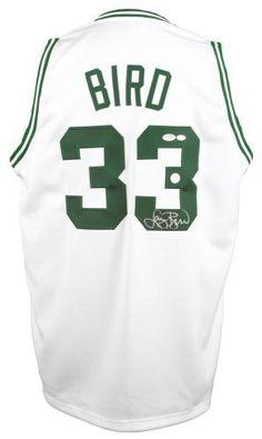 Larry Bird Boston Celtics Autographed White Mitchell   Ness Swingman Jersey f0a525c3b