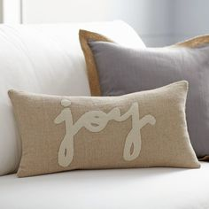Holiday Joy Pillow Cover