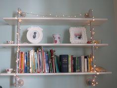 shelves lights
