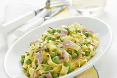 Ricette di Cucina Taglierini ai piselli